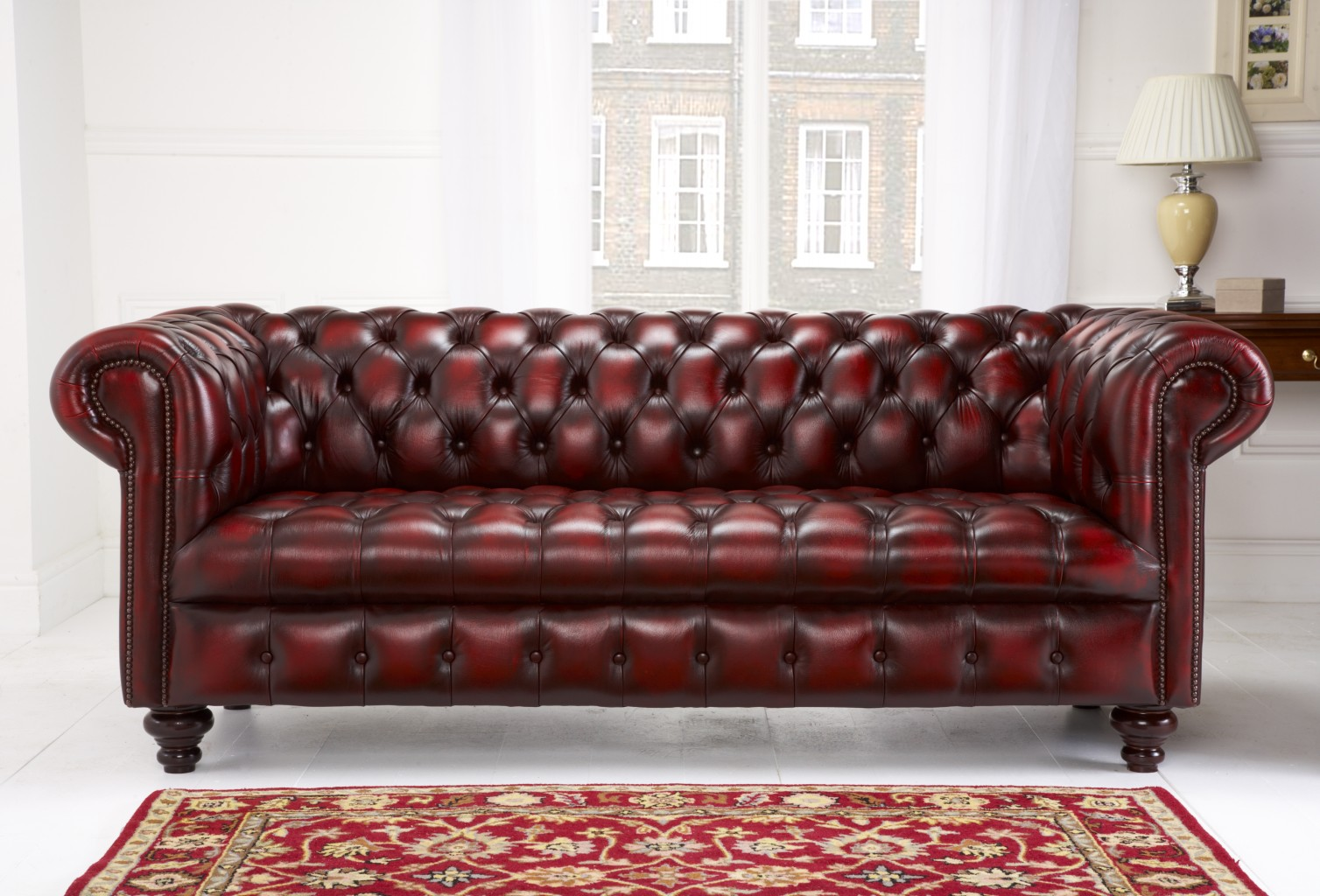 Edwardian chesterfield english chesterfields for Sofas clasicos ingleses