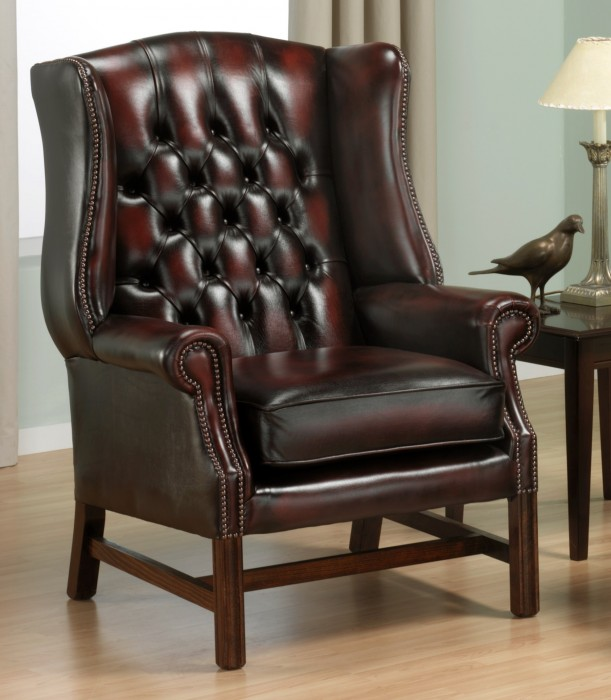 Georgian wing chair