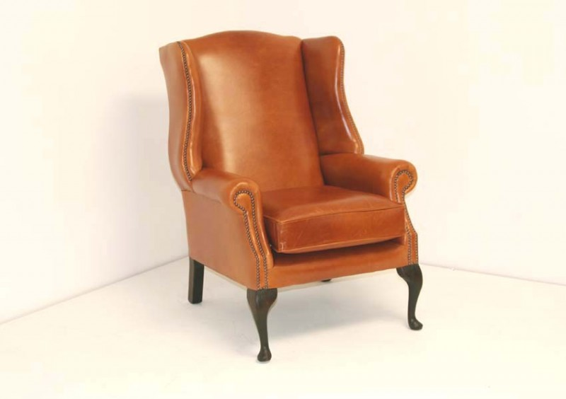 York Wing Chair, traditional style with a modern twist.